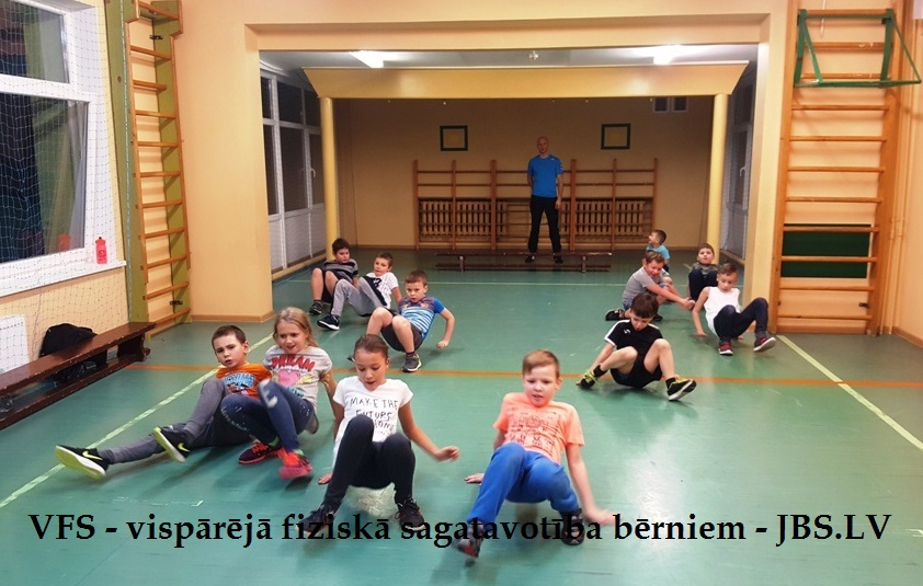 Vispārējā fiziskā sagatavotība bērniem - VFS Jūrmalā